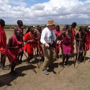 Dancing with the Maasai