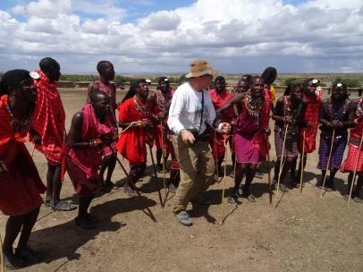 Dancing with the Maasai